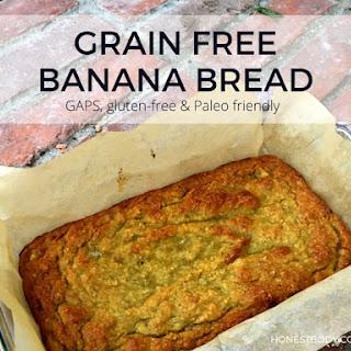 Grain free banana bread (GAPS, gluten free, paleo friendly)