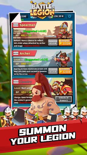 Battle of legion apkpoly screenshots 2
