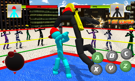 Stickman Wrestling 2.1 screenshots 1