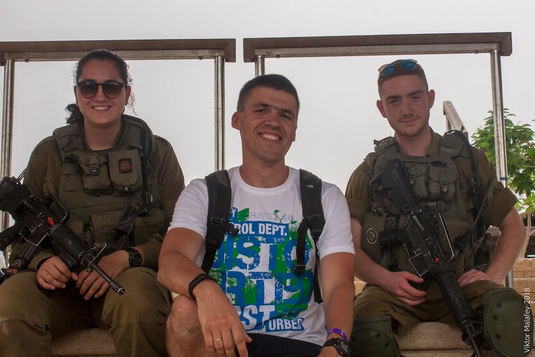 Воєнні біля річки Йордан