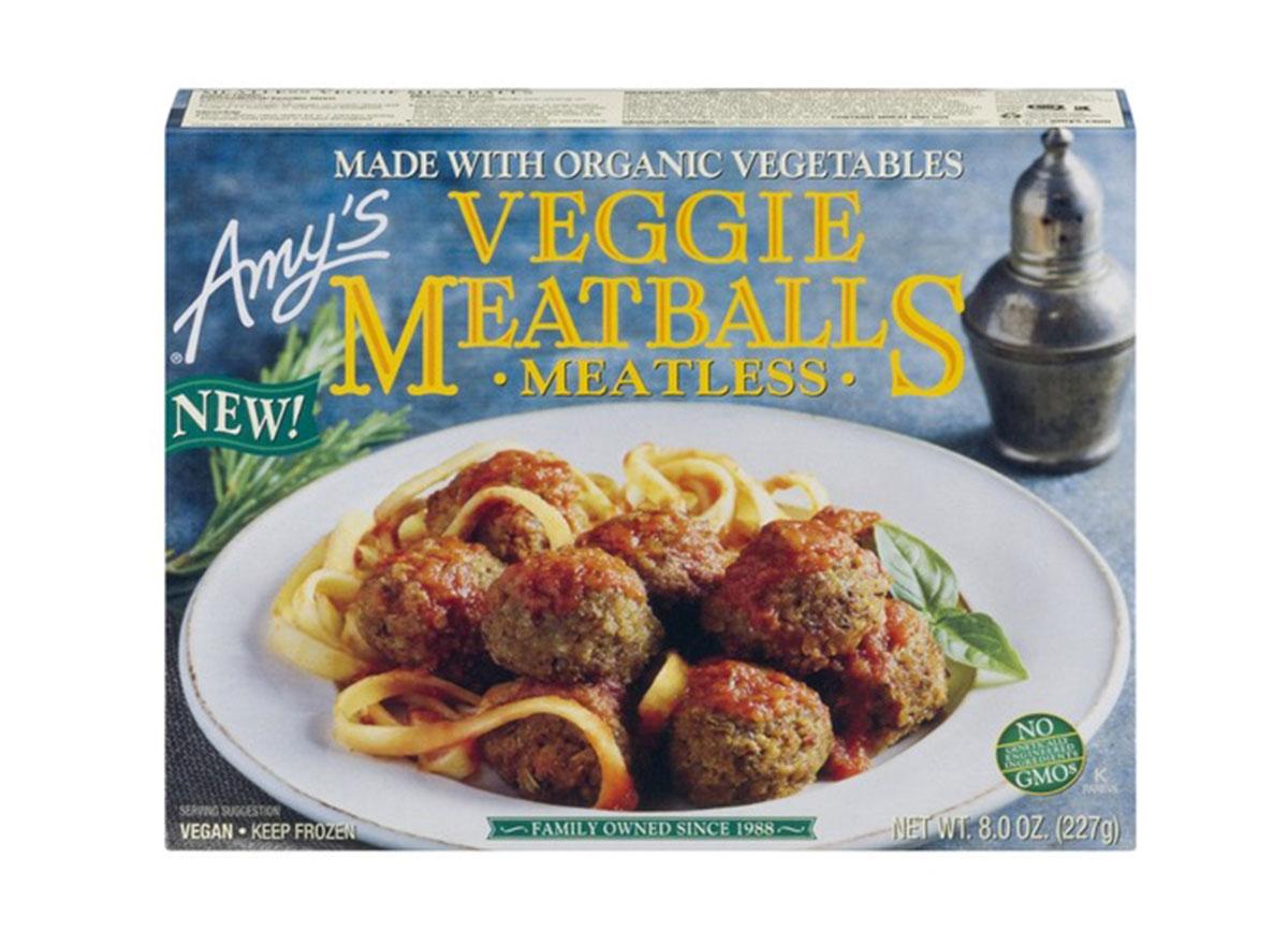 amys veggie meatballs