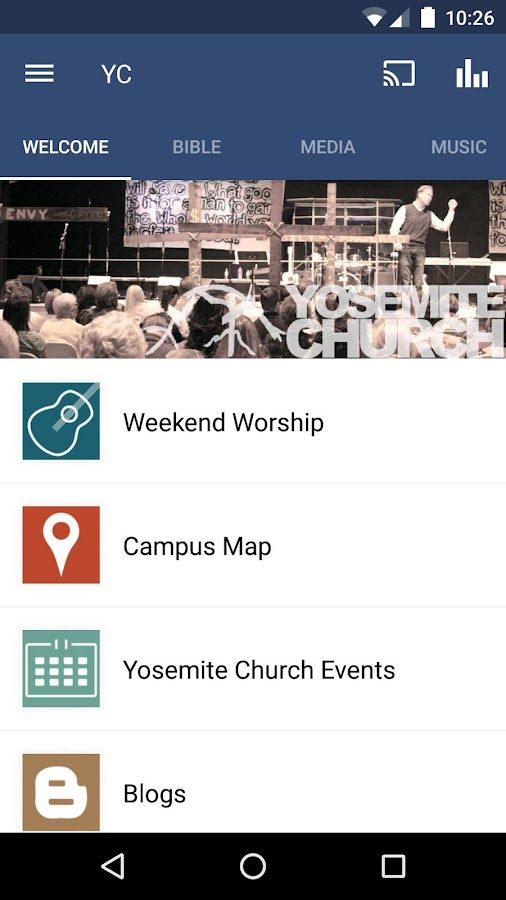 Yosemite Church- screenshot