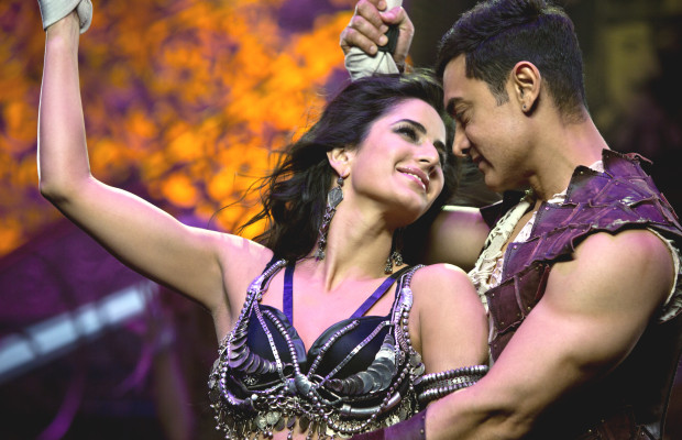 Katrina Kaif with Aamir Khan in Dhoom 3