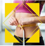 Abnehmen und Körper formen