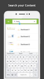 InstaBI Mobile - náhled