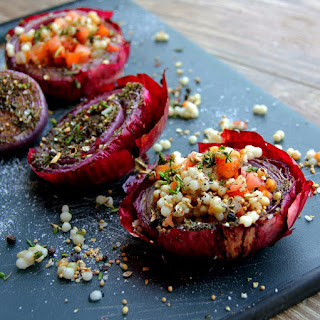 Grilled Red Onion & Southwest Cous Cous Salad