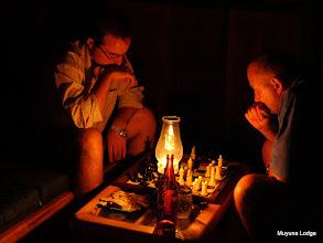 Photo: Without electricity, we played like when we were kids..../  Sin electricidad, volvemos a jugar cómo cuando éramos niños...