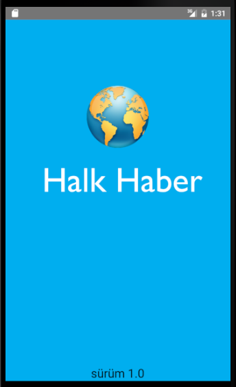 Halk Haber- screenshot