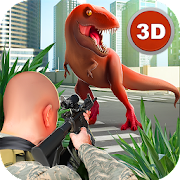 Sniper Dinosaur Park Hunt 3D - Best Shooting