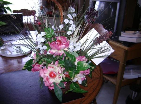 Lollipop Floral Arrangement Recipe