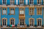 Façade d'immeuble Lisbonne