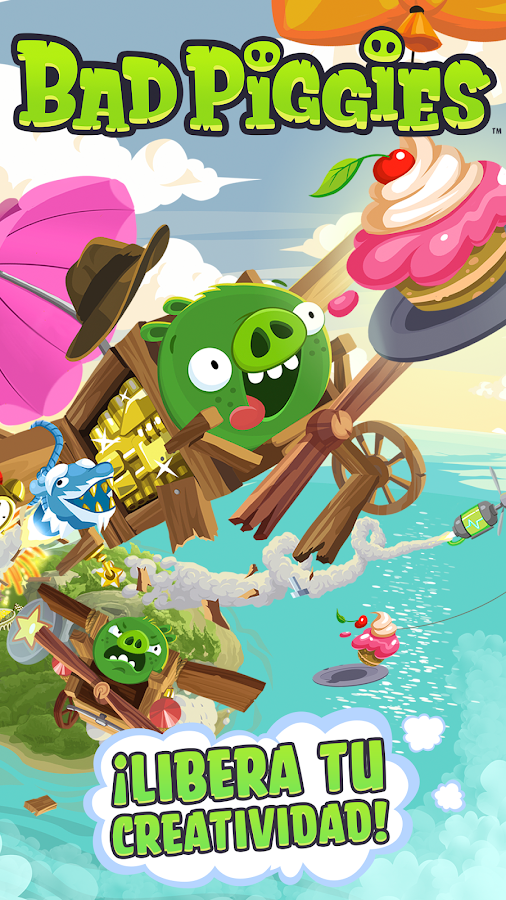 Bad Piggies HD: captura de pantalla
