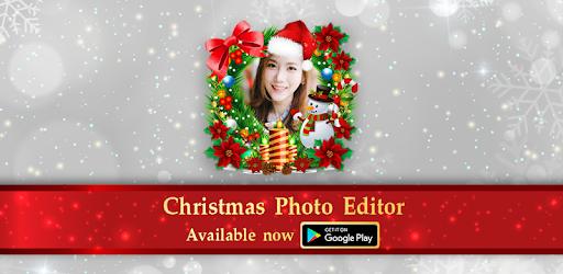 christmas photo editor apps on google play
