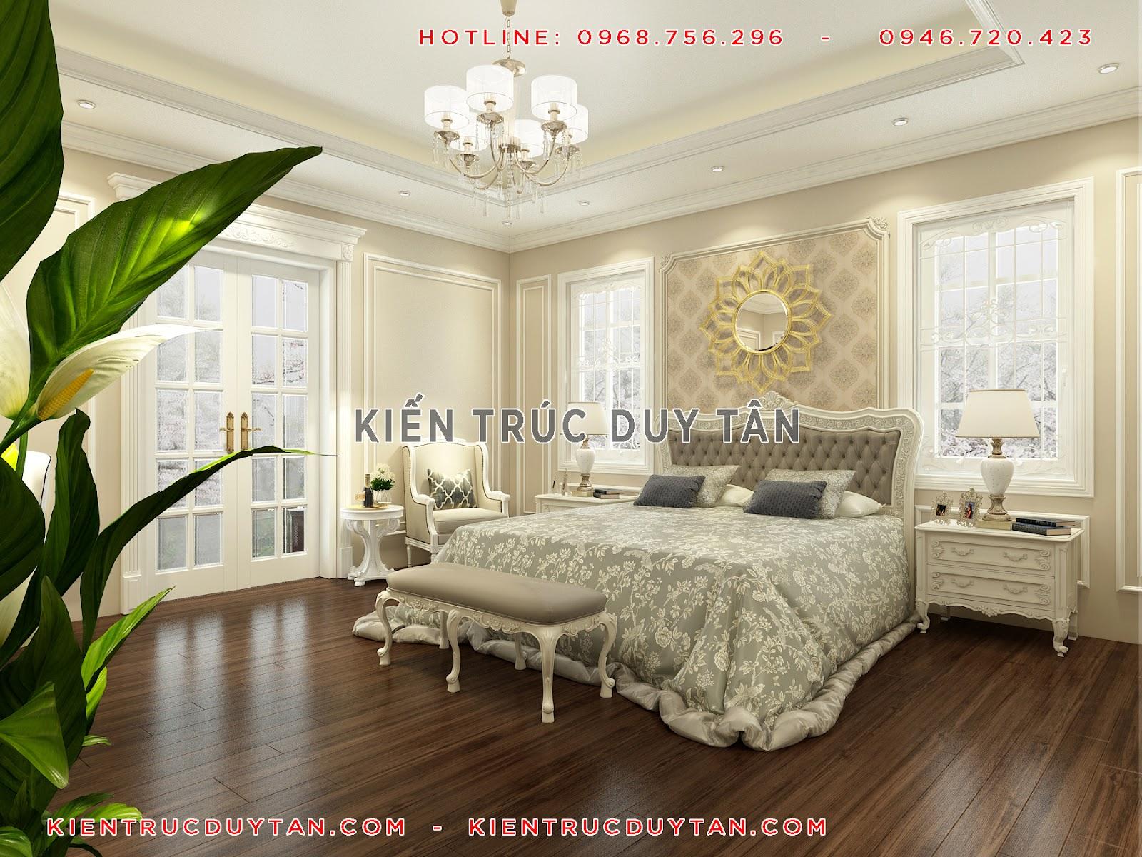 Biệt thự có 3 phòng ngủ tạo sự liên kết giữa các thành viên trong gia đình