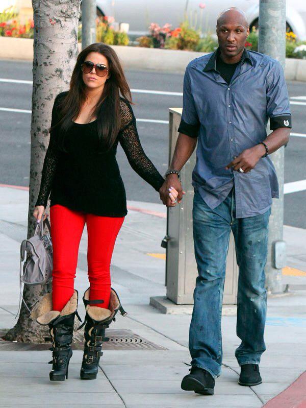 Odom wife Kohler - Kardashian when the US magazine