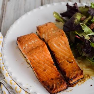 Easy Honey Salmon.