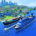 Sea Port: Manage Ship Tycoon icon