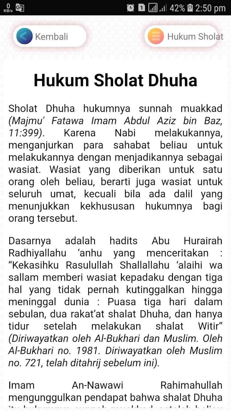 Скриншот Panduan Sholat Wajib dan Sunnah Lengkap dengan Doa
