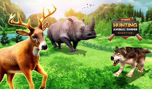 Ultimate Hunting Animal Sniper Shooting 1.3 screenshots 1
