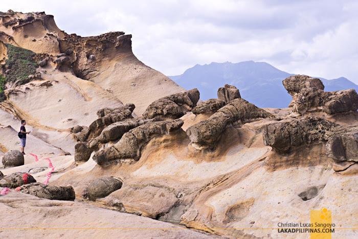 Yehliu Geopark Ginger Rocks