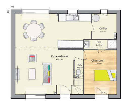 Vente maison 7 pièces 124 m2