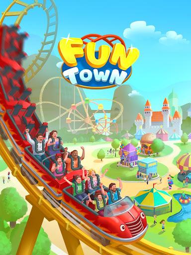 Fun Town: Build theme parks & play match 3 games screenshots 8