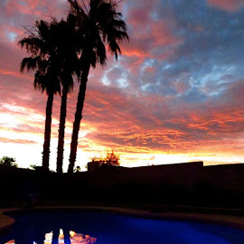 Las Vegas Sunset by Lori Nordlund - Instagram & Mobile iPhone