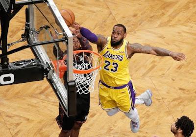 Nieuwe topper voor LA Lakers, ook Brooklyn Nets en Utah Jazz komen in actie