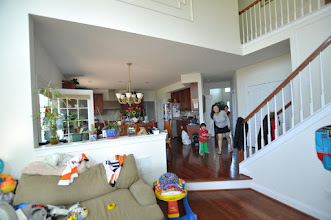 Photo: Before  Song's Family room/Breakfast room opening Collegeville, PA