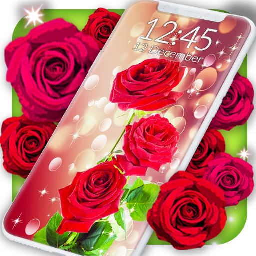 Red Rose Live Wallpaper Apps On Google Play