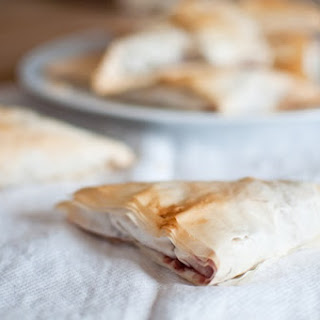 Spiced Apple, Red Wine, and Cranberry Turnovers