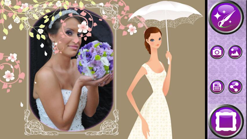 android Wedding Frames Photo Editor Screenshot 3