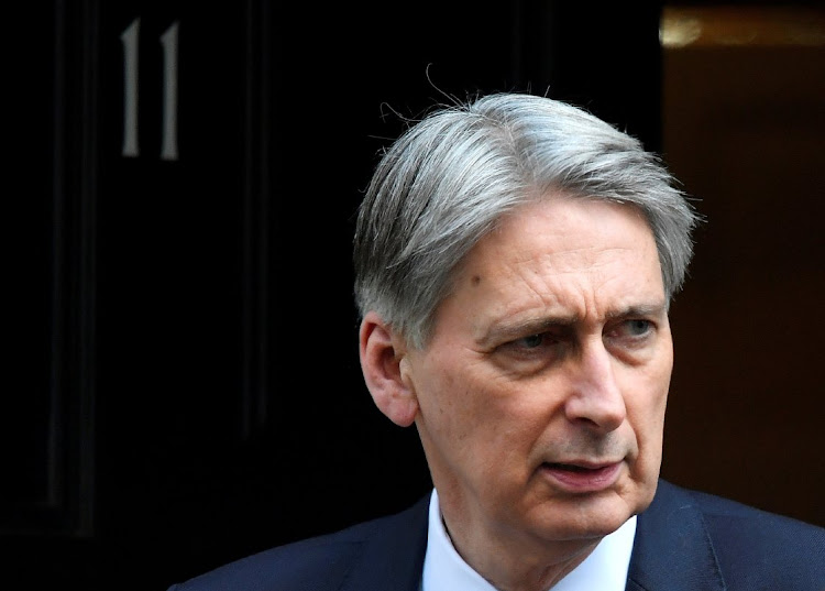 Chancellor of the Exchequer Philip Hammond. Picture: REUTERS/TOBY MELVILLE