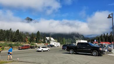 Photo: Last day sightseeing at a ski resort.