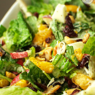 Green Salad with Craisins® and Poppyseed Dressing.