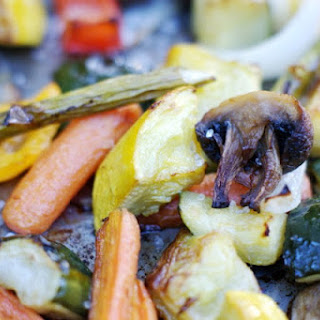 Roasted Summer Vegetables.