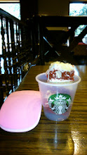 Photo: Recently, kind Starbucks people offer each guest a big slice of cake for tasting, which gives me energy! 11th April updated (日本語はこちら) -http://jp.asksiddhi.in/daily_detail.php?id=510