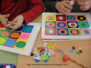 Photo: Collages Kandinsky 5ºB