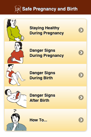 Safe Pregnancy & Birth- screenshot