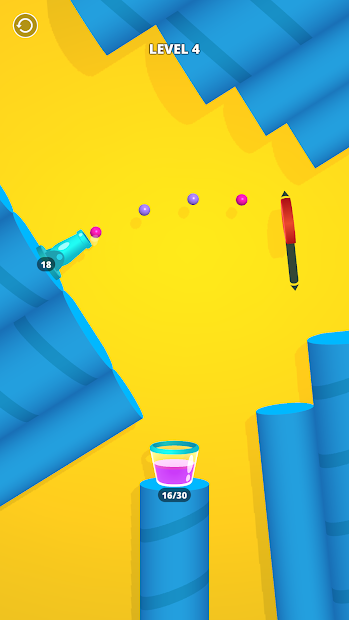 Cannon Shot! Android App Screenshot