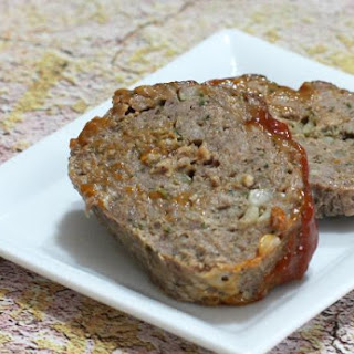Old-Fashioned Homemade Meatloaf