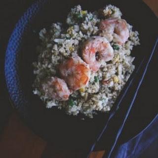 Shrimp Rice Vegetables Recipes.