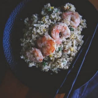 The Best Shrimp Cauliflower Fried Rice.