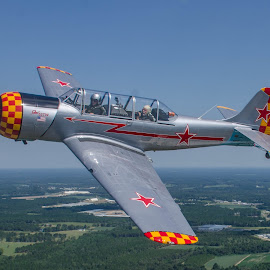 Yak 52TW by Ron Malec - Transportation Airplanes