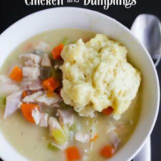 Chicken and Dumplings.