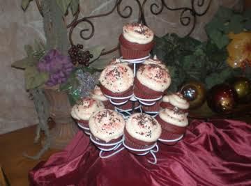 Royal Red Velvet Cupcakes