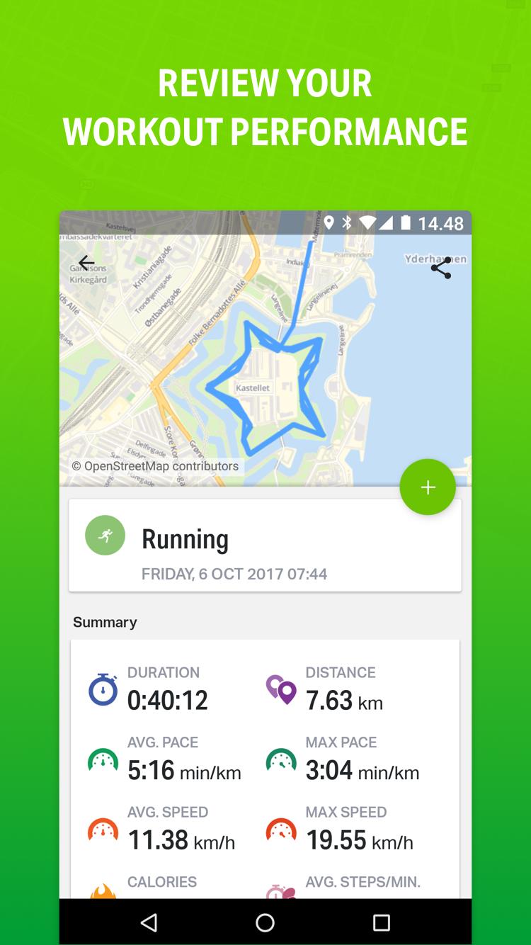 Endomondo - Running & Walking Screenshot 1