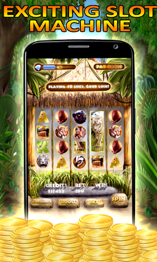 Slot Machine: Wild Cats Slots apkpoly screenshots 1