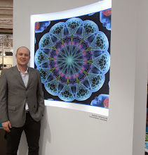 Photo: Vojta Krouzek, the designer of this mandala rug. Grund, Czech Republic. www.grund.cz  #ambiente14
