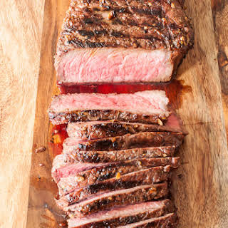 Gluten Free Grilled and Marinated London Broil.